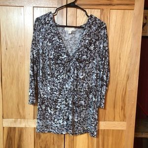 Beautiful print Michael kors top